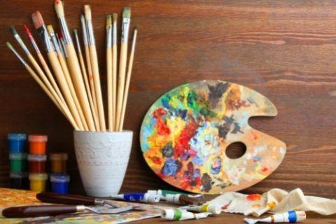 美術に使う道具